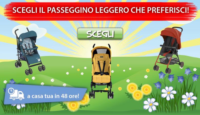 Clicca e acquista il tuo passeggino leggero!