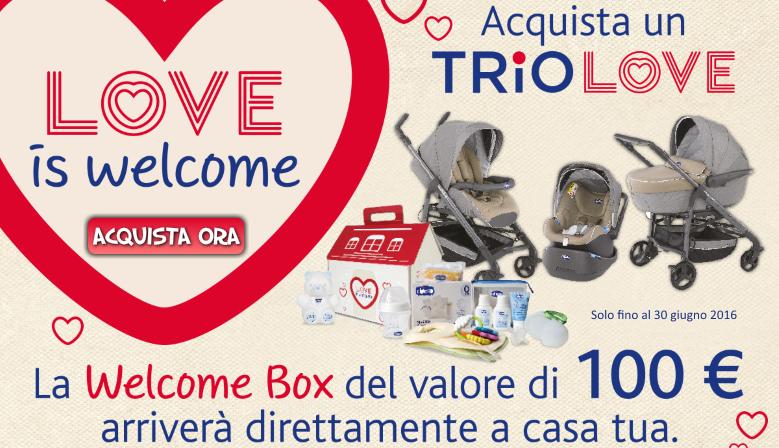 In regalo la Welcome Box!