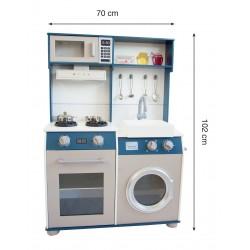ODG Cucina in Legno Media con Accessori