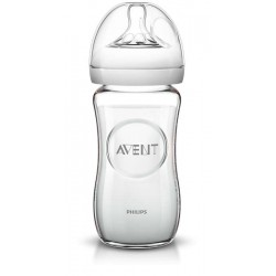 Avent Biberon Natural Vetro 240 ml 1 mese