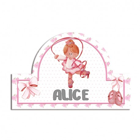 Targhetta per Nome Ballerina - Aracne Italy