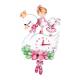 Dekori Orologio Ballerina 3D da Parete