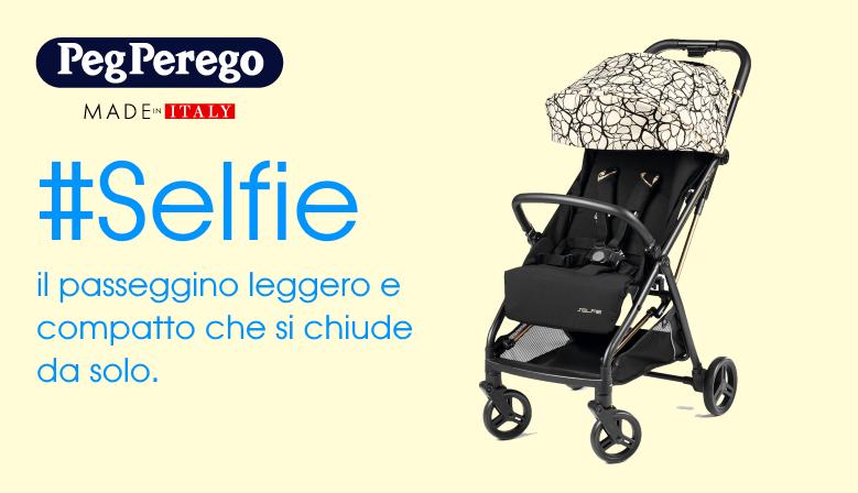 Scopri il nuovo passeggino Selfie di Peg Perego
